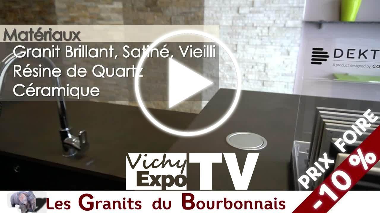 les granits du bourbonnais vichy expotv 2017. Black Bedroom Furniture Sets. Home Design Ideas